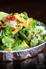 Cafe Rio Sweet Pork Salad