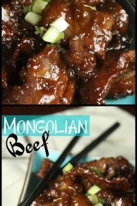 Pin of Mongolian Beef