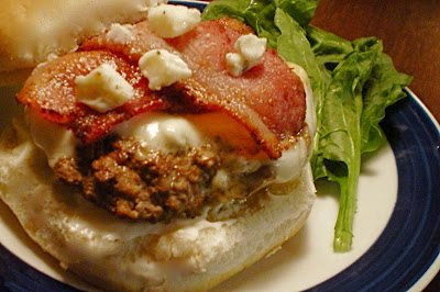 Bleu Bacon Burgers