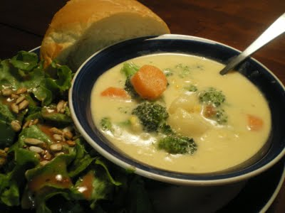 Country Vegetable Chowder -Favorite Family Recipes