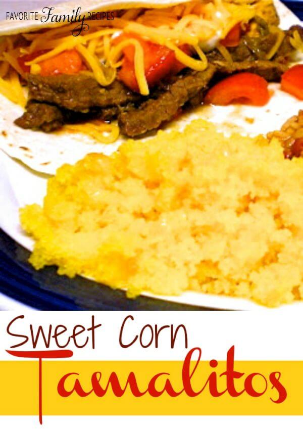 Sweet Corn Tamalitos