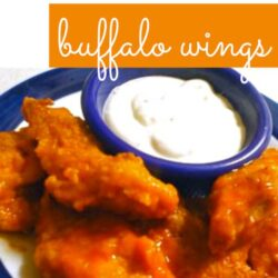 Semi-Baked Boneless Buffalo Wings Recipe