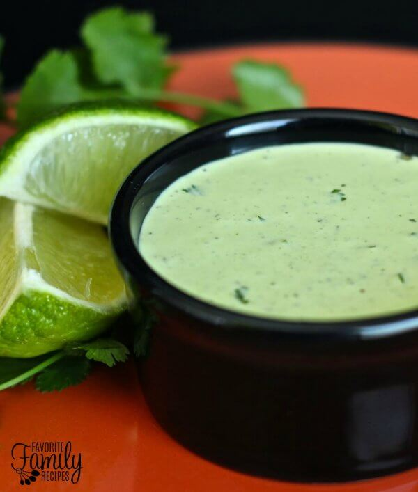 Cafe Rios Cilantro Ranch Dressing