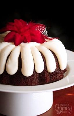 Nothing Bundt Cake Lemon Raspberry Recipe