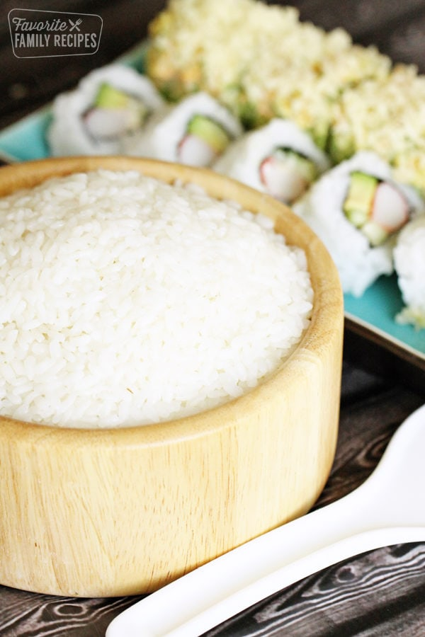 How To Make Sushi Rice Only 4 Ingredients Favorite Family Recipes