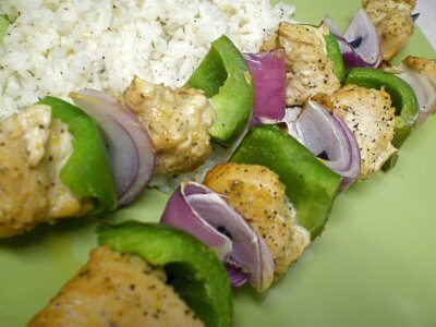 Lemon Chicken Kabobs