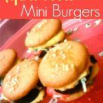 April Fools Mini Burgers