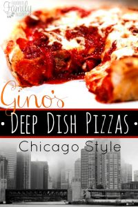 Gino's Deep Dish Chicago Style Pizza Copycat