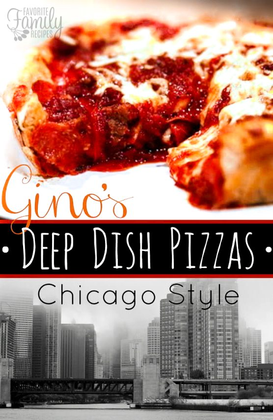 Ginos Deep Dish Chicago Style Pizza