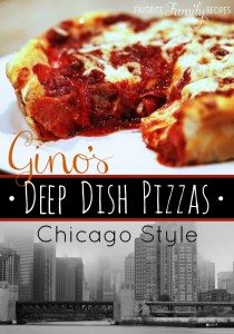Gino's East Deep Dish Pizza Chicago Style