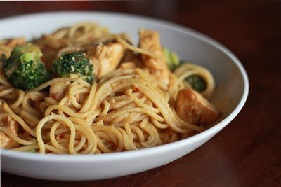 Sweet and Spicy Noodles with Chicken