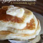 Nicea's Yogurt Pancakes with Homemade Syrup