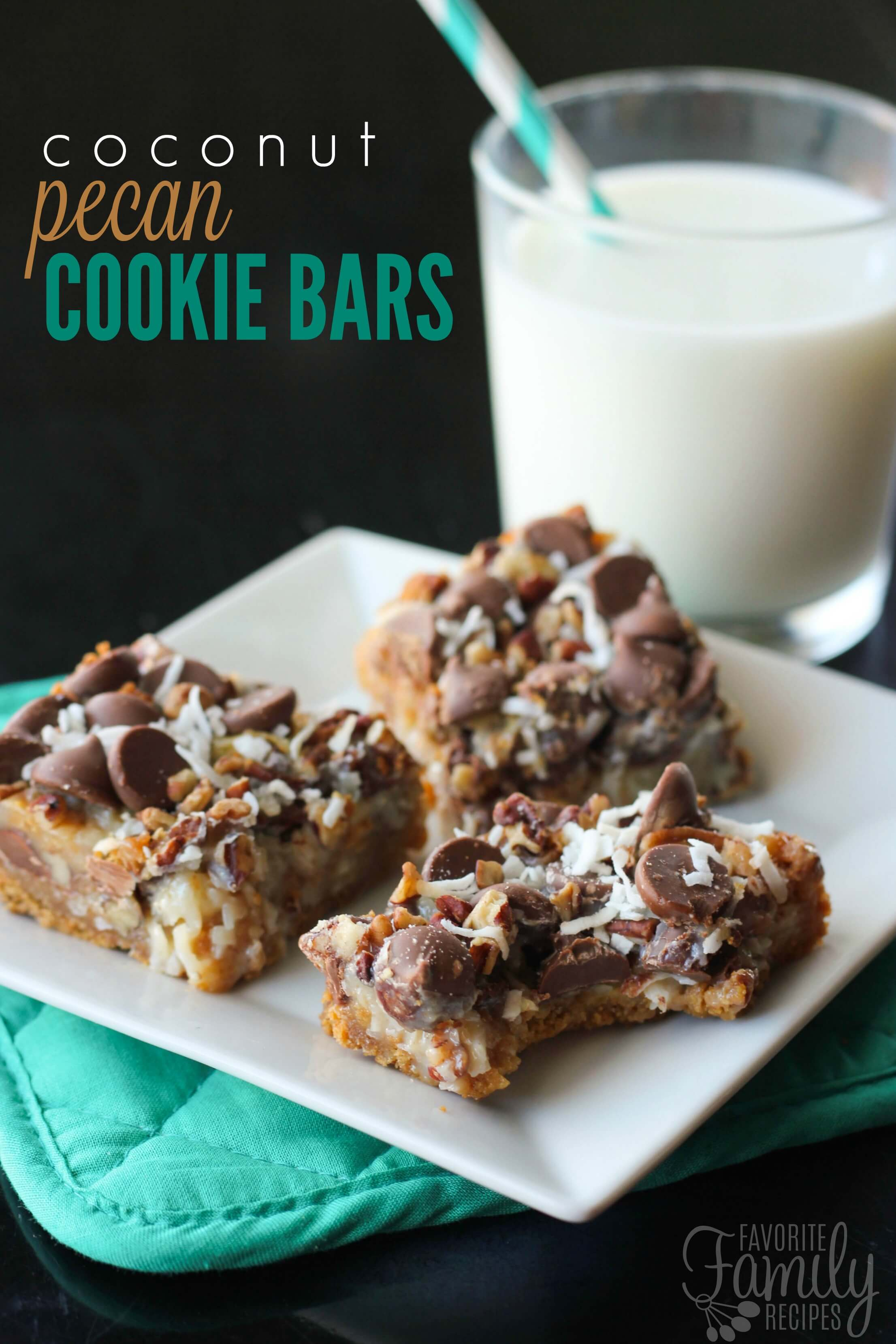 love these Coconut Pecan Cookie Bars. They look impressive and taste ...
