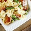 Creamy Bowtie and Asparagus Pasta