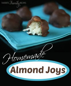 Homemade Almond Joys