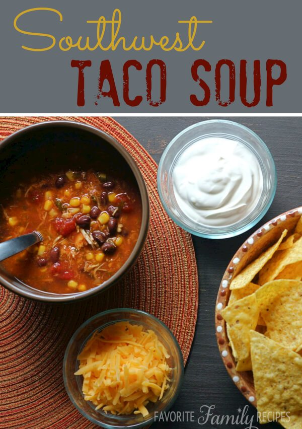 Southwest Taco Soup