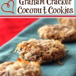 Graham Cracker Coconut Cookies (Low-Fat)