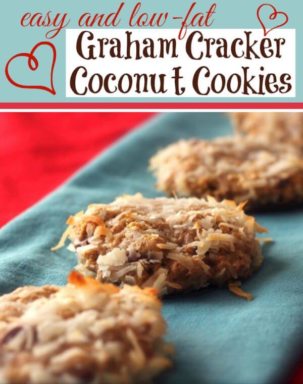 Graham Cracker Coconut Cookies