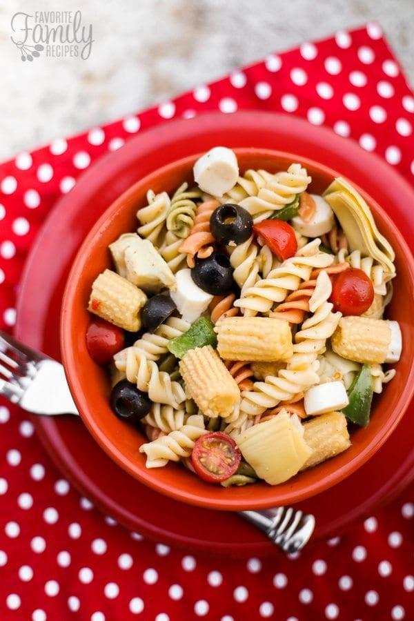 Italian Summer Pasta Salad Recipe