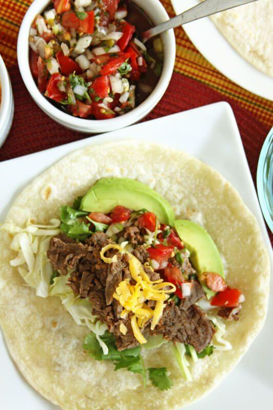 Grilled Carne Asada (and Carne Asada Burritos) | Favorite Family ...