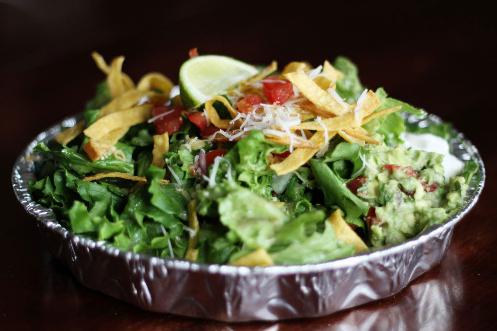 Cafe Rio Sweet Pork Salad from FavFamilyRecipes.com #CafeRioRecipes