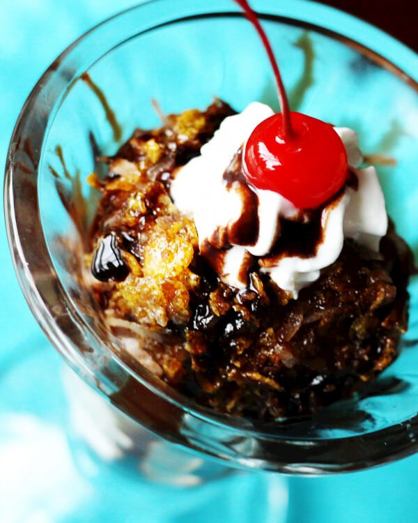 ... stir 10 best fried ice cream with corn flakes homemade ice cream fried