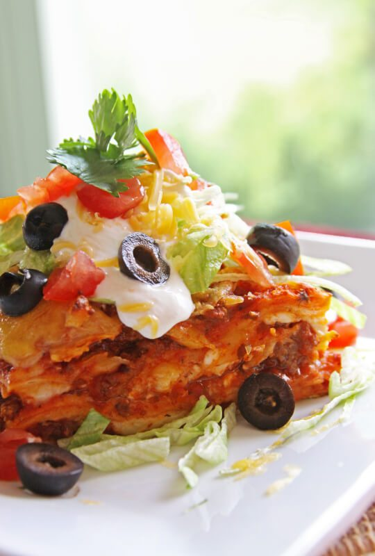 Mexican Lasagna -Favorite Family Recipes