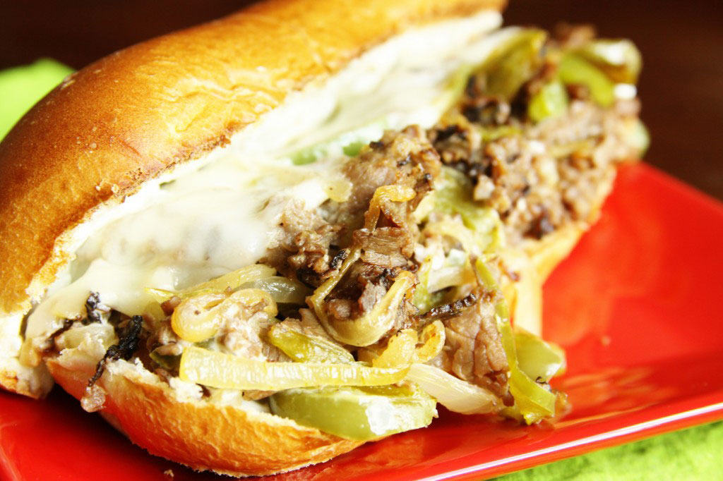 Easy Philly Cheesesteaks by FavFamilyRecipes.com