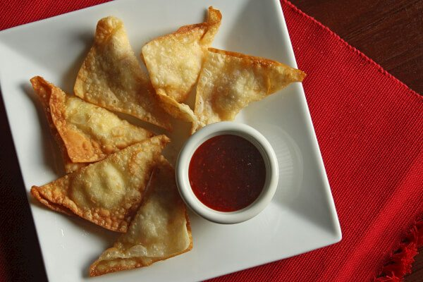 Crab & Cream Cheese Wontons -Favorite Family Recipes