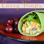 Chicken Salad Curry Wraps