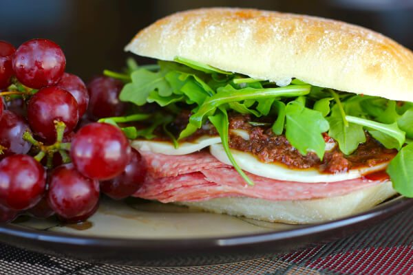 Italian Sandwiches with Olive Tapenade -Favorite Family Recipes