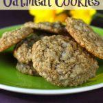 The Shipp's Cinnamon Oatmeal Cookies