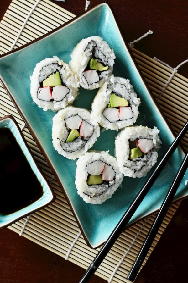 California Rolls -Favorite Family Recipes