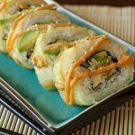 Shrimp Tempura Godzilla Rolls with Spicy Mayo
