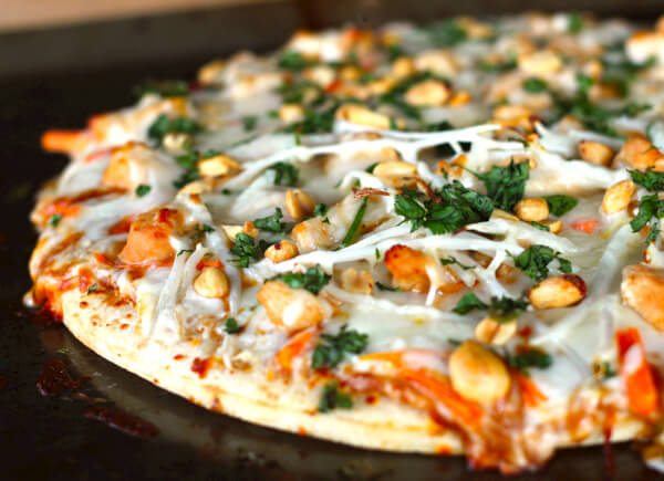 Our Version of California Pizza Kitchen's Thai Chicken Pizza