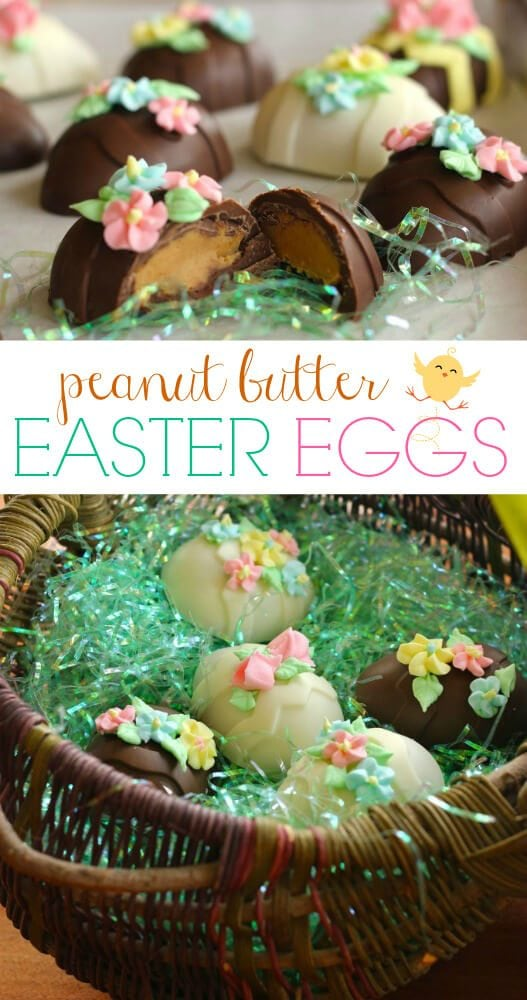 Peanut Butter Easter Eggs -Favorite Family Recipes