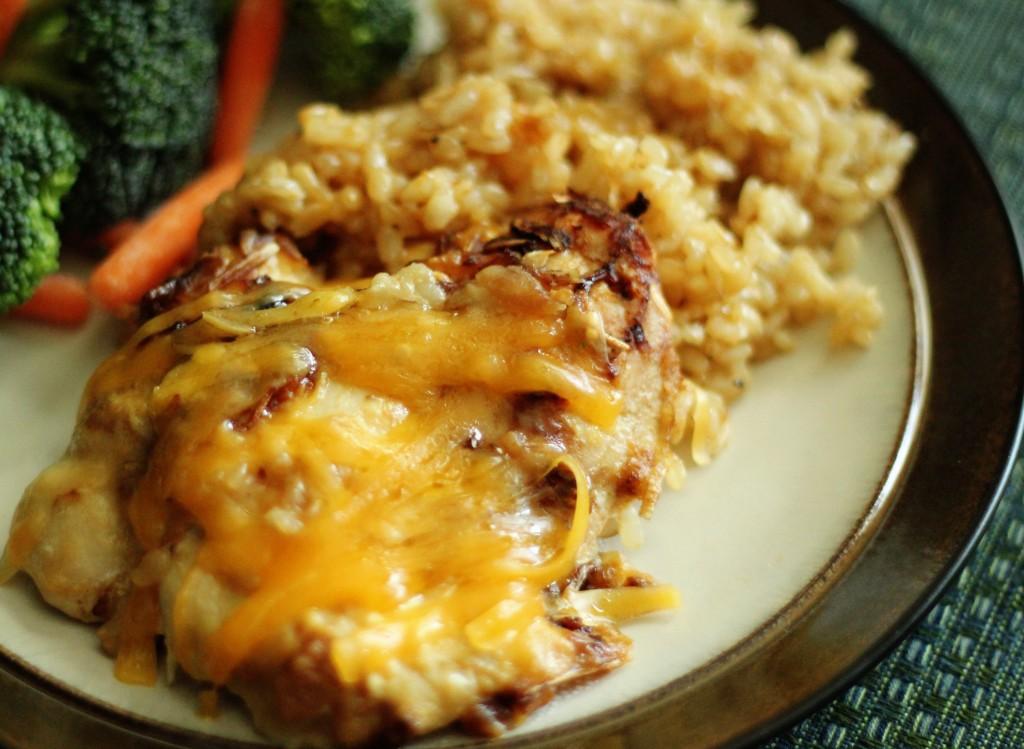 Cheesy Chicken and Rice Casserole -Favorite Family Recipes