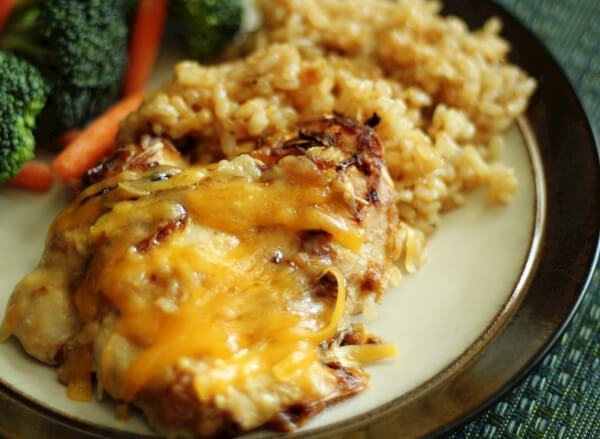 Cheesy Chicken and Rice Casserole -Favorite Family Recipes