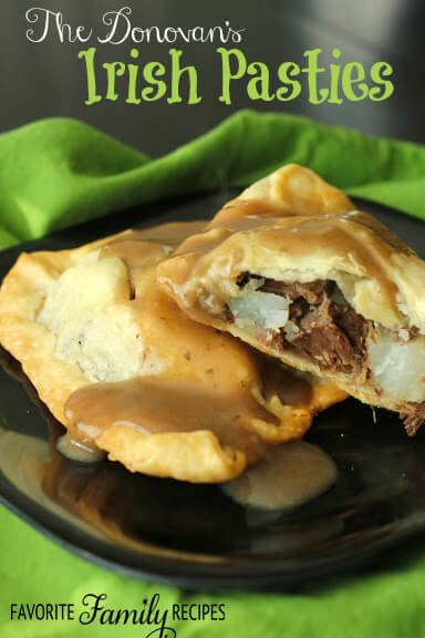 Irish Pasties from Favorite Family Recipes