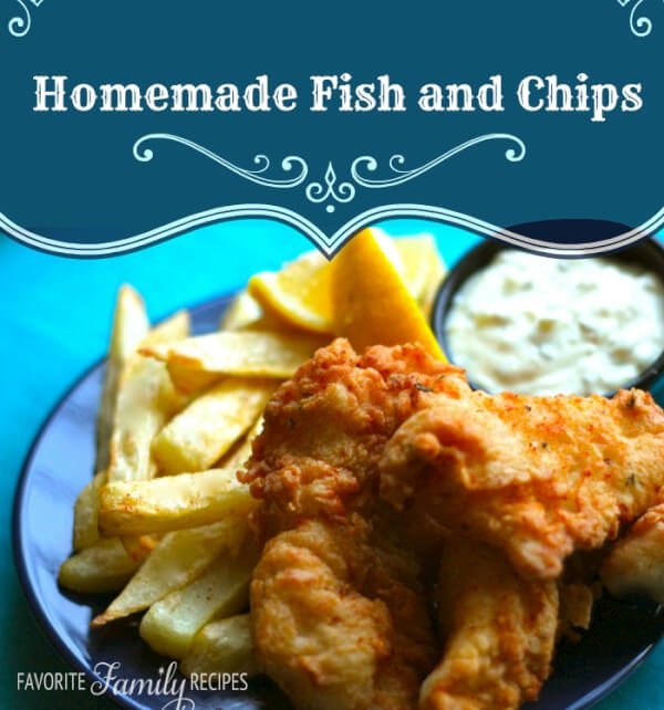 Fish and Chips from favfamilyrecipes.com