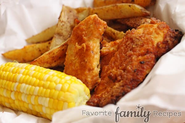 Oven Fried Chicken -Favorite Family Recipes