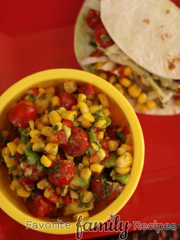 Fresh Corn And Avocado Salsa Recipes — Dishmaps