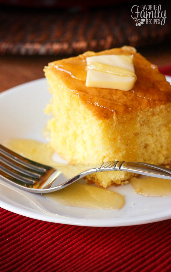 Easy Cake Mix Cornbread From Favorite Family Recipes