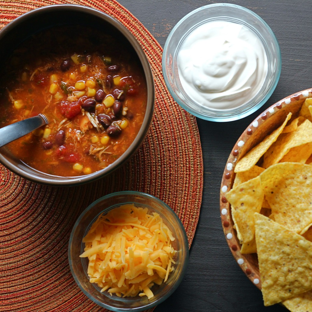 Taco Soup from FavFamilyRecipes.com