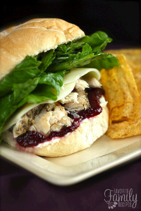 Pilgrim Sandwiches – Thanksgiving Leftover Recipe