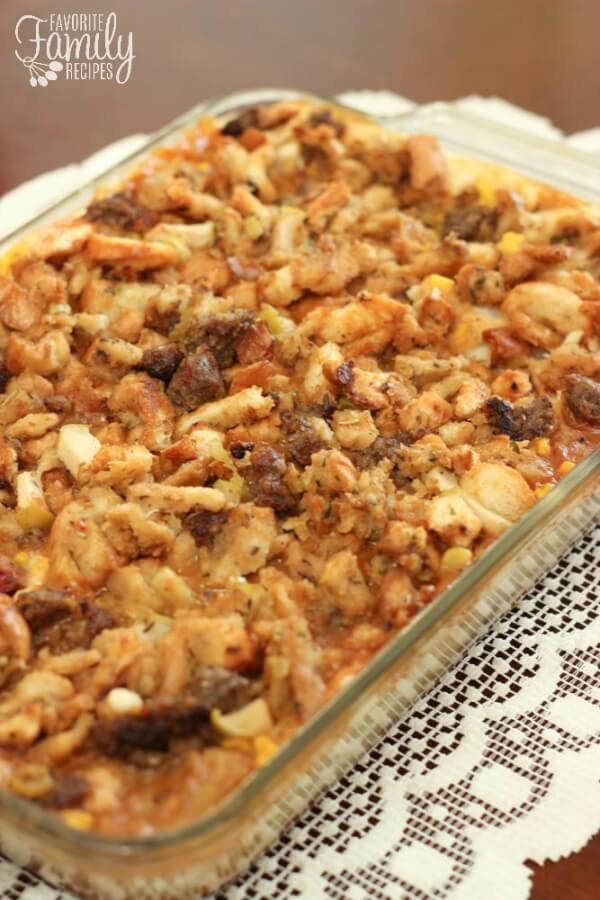 Thanksgiving leftover casserole favorite family recipes forumfinder Image collections