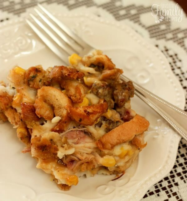Thanksgiving leftover casserole recipe for Leftover thanksgiving turkey recipes