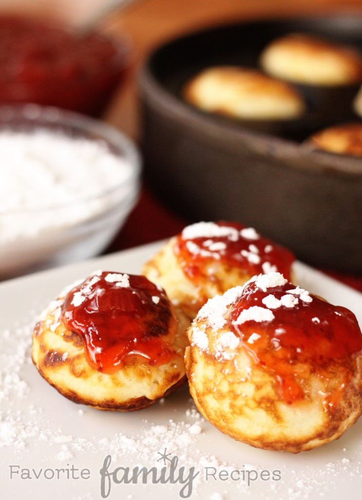 Aebleskiver - Favorite Family RecipesFavorite Family Recipes