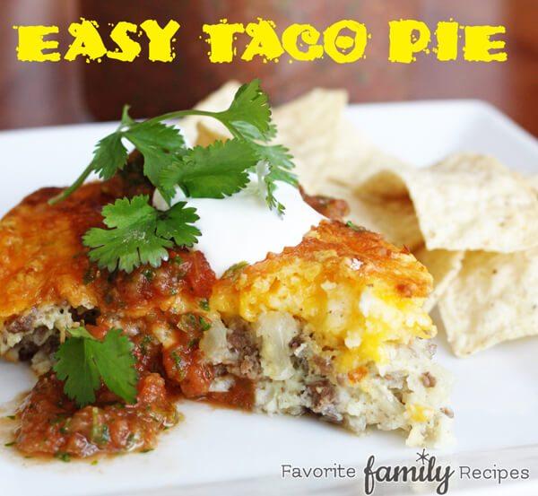 Easy Taco Pie