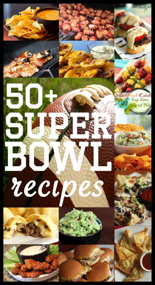 50+ Super Bowl Recipes
